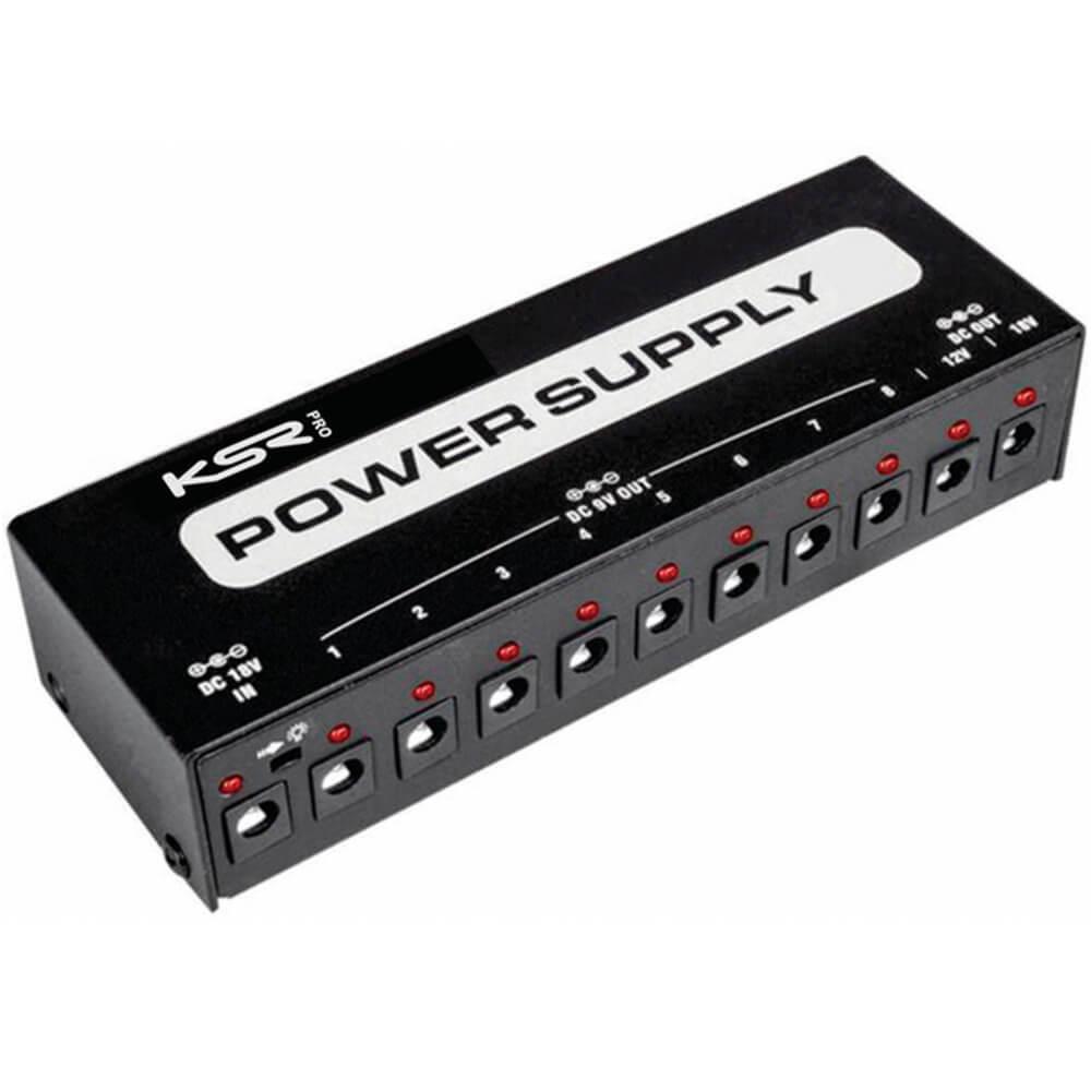 Kit Fonte de Alimentação KSR PS-12V Power Supply para Pedal