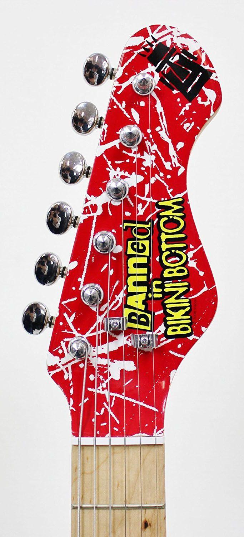 KIT Guitarra Elétrica Bob Esponja SBE34OFT Com Falante 3