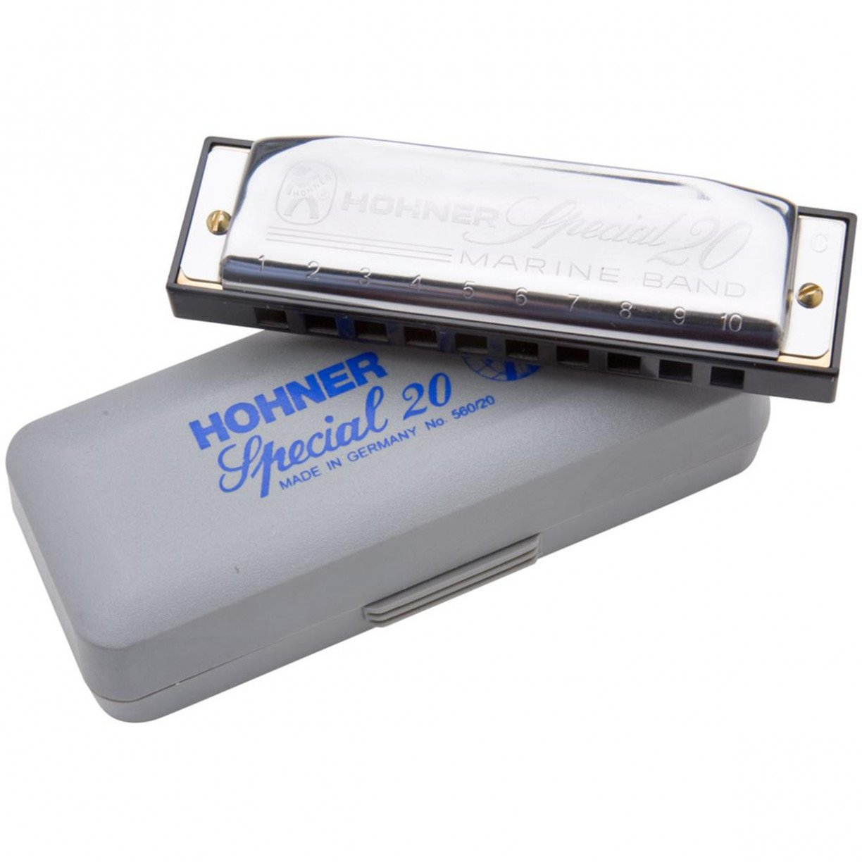 Kit Harmonica Special 20 - C, G, A - HOHNER