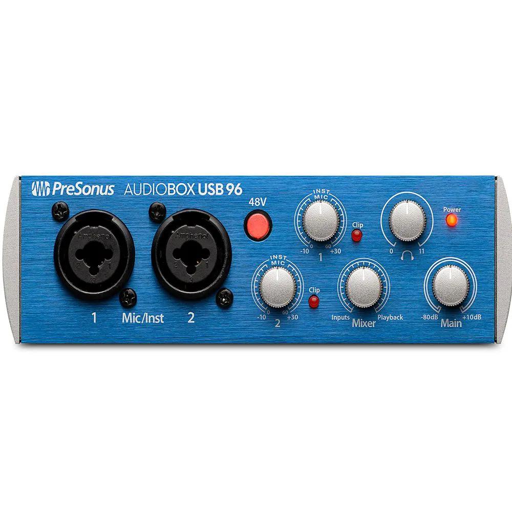 Kit Interface de Áudio Presonus Audiobox USB 96 Studio