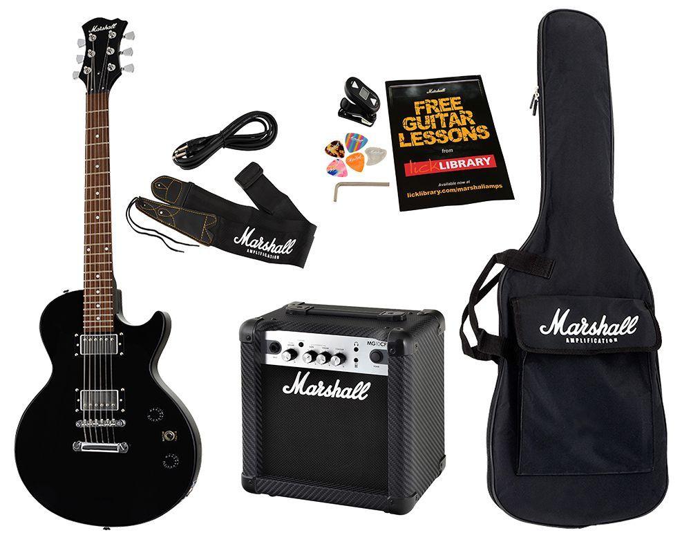Kit Pack Guitarra Marshall MGAP