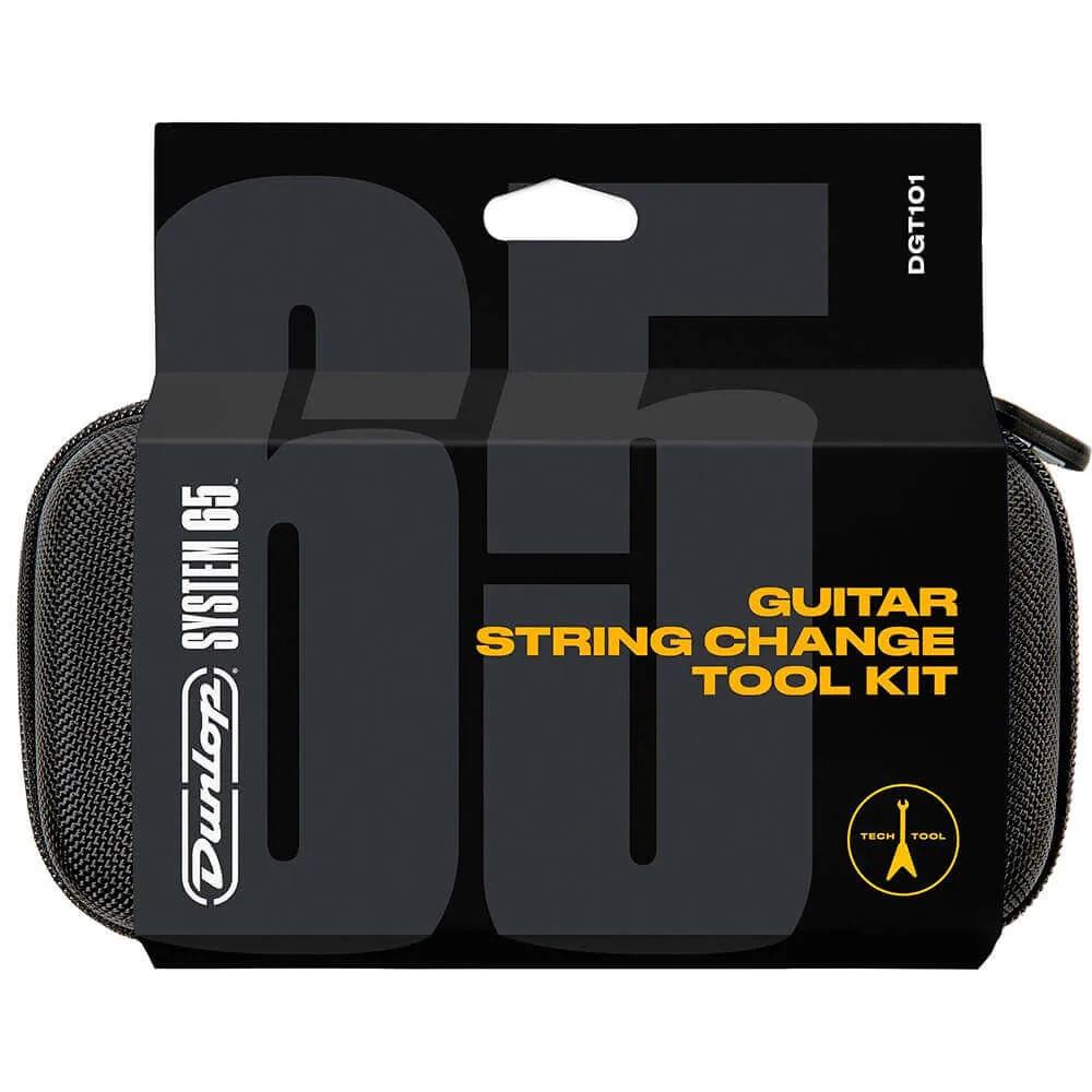 Kit Troca de Cordas Dunlop DGT101 System 65 Ferramentas