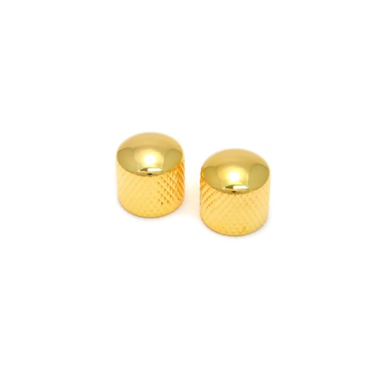 Knob Metal Encaixe S/ Parafuso Dourado Pct C/4 Dolphin