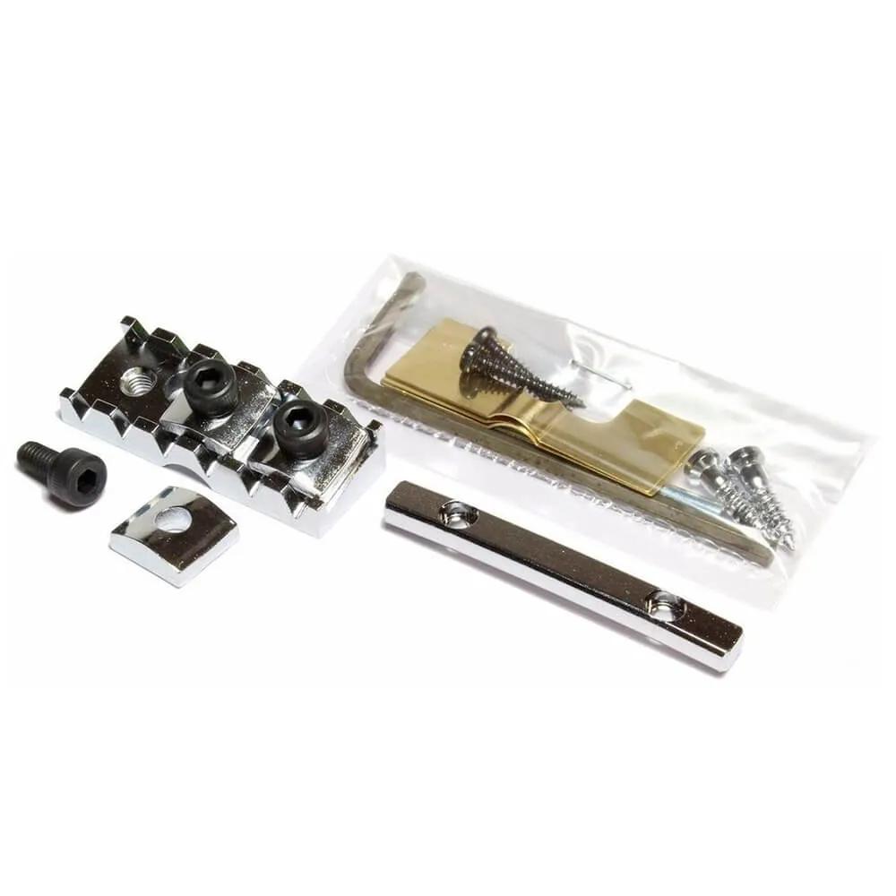 Lock Nut Gotoh FGR-2 Cromado Fixação Frontal para Floyd Rose