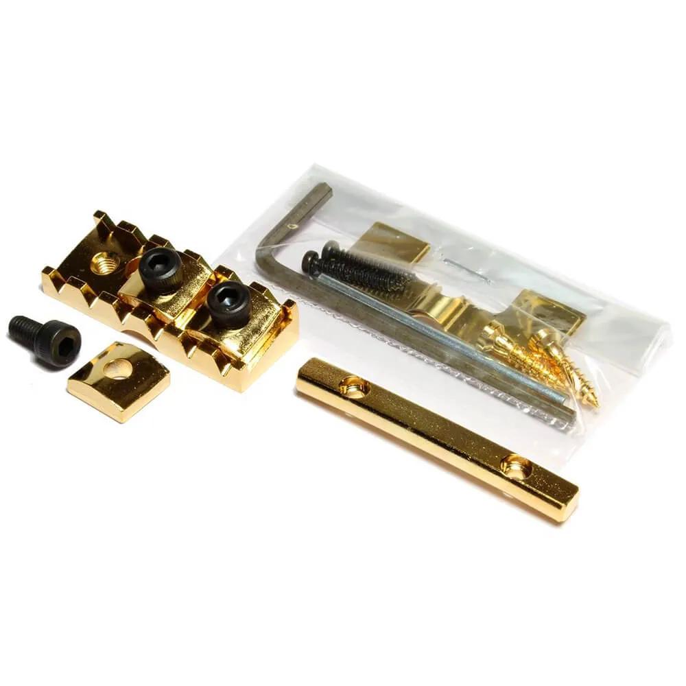 Lock Nut Gotoh FGR-2 Dourado Fixação Frontal para Floyd Rose