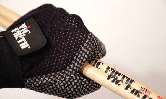 Luvas Protetoras Vic Firth Vic Gloves para Baterista