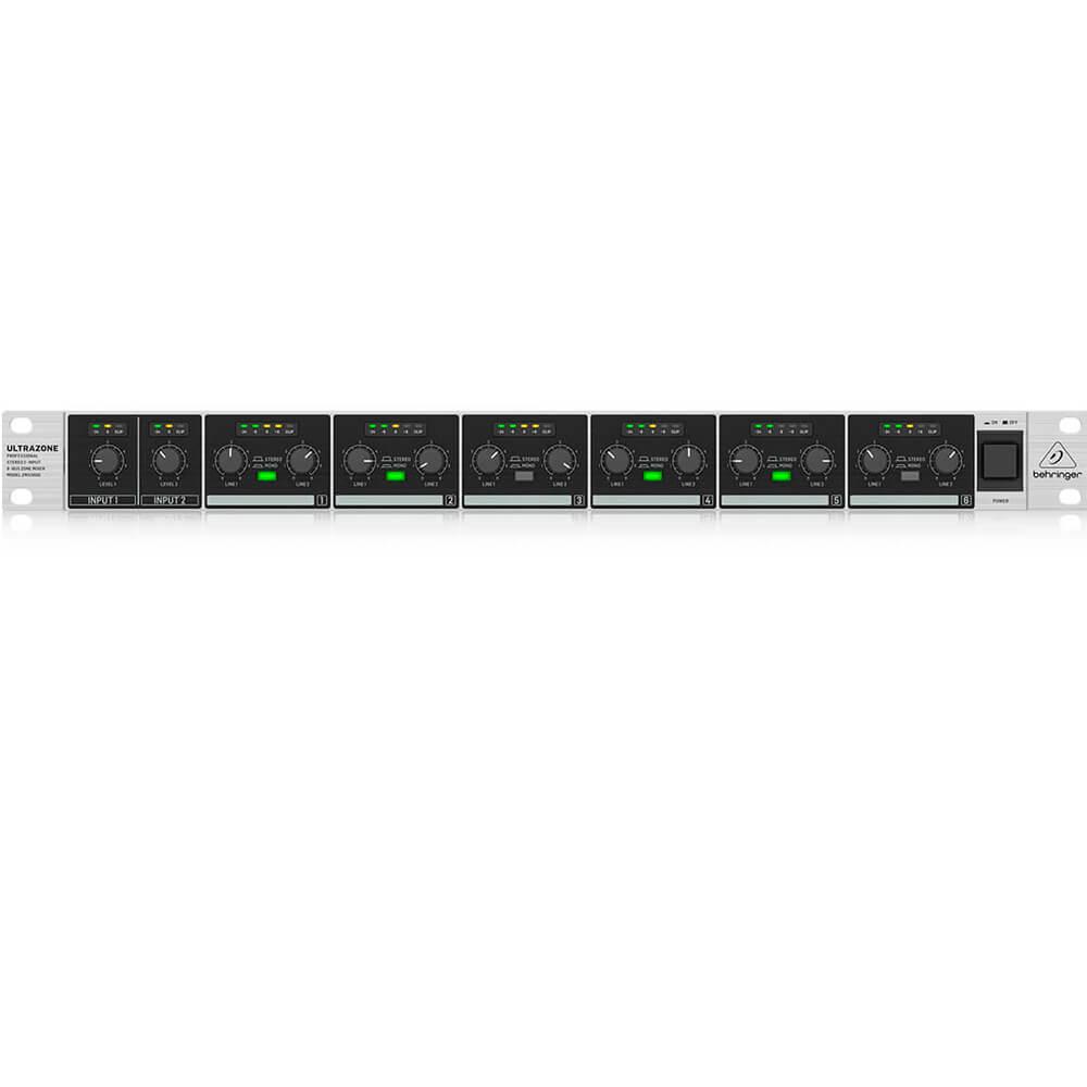 Mesa Analógica Behringer ZMX2600 Ultrazone 6 Canais S/ Efeitos Bivolt