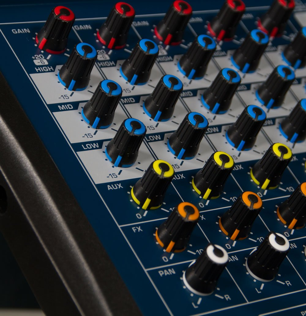 Mesa de Som 12 Canais, Efeitos/Interface - LMX12USB - Lexsen