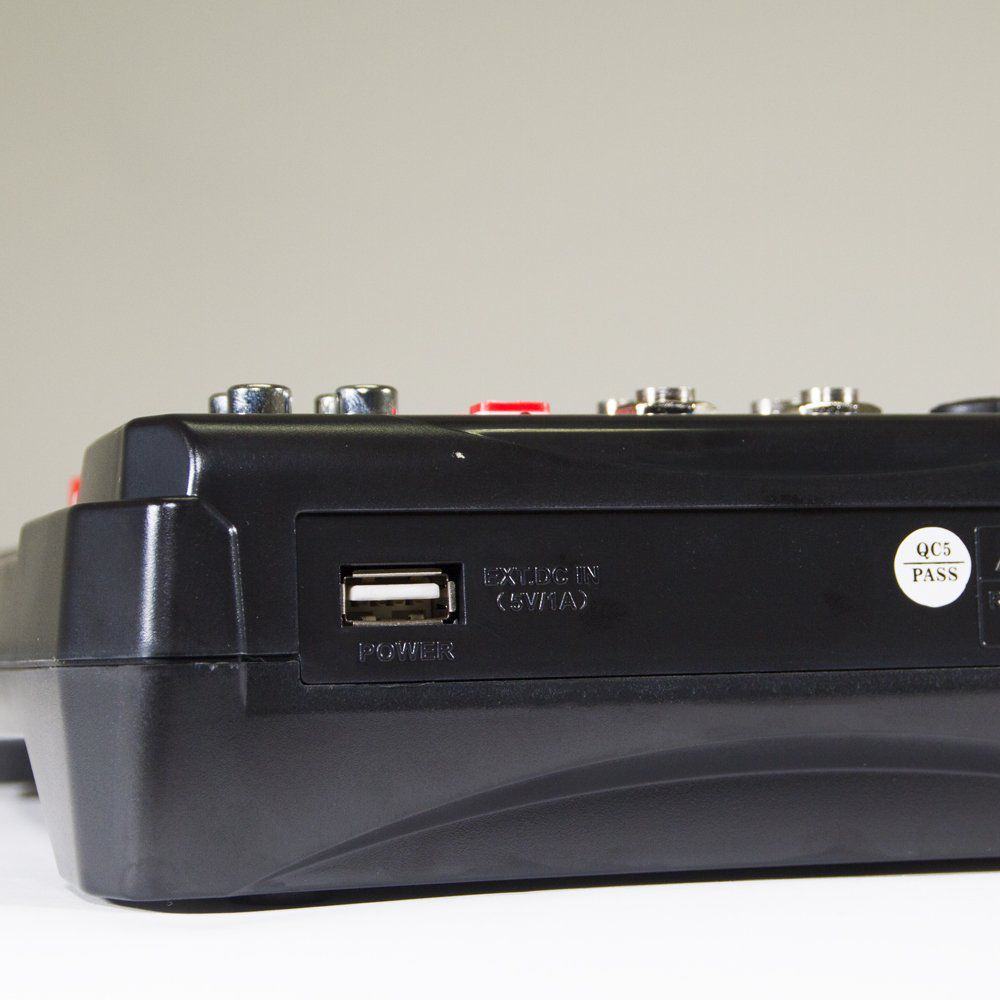Mesa de Som 6 Canais, Efeitos/Interface - M6 - Lexsen