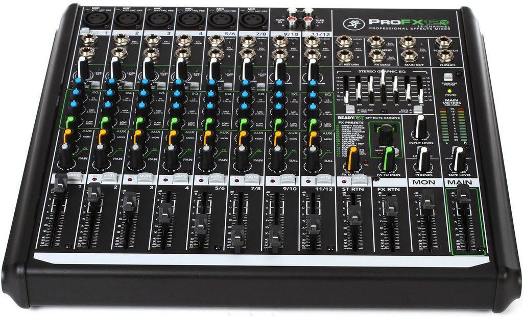 Mesa de Som Analógica Mackie Pro FX12 V2
