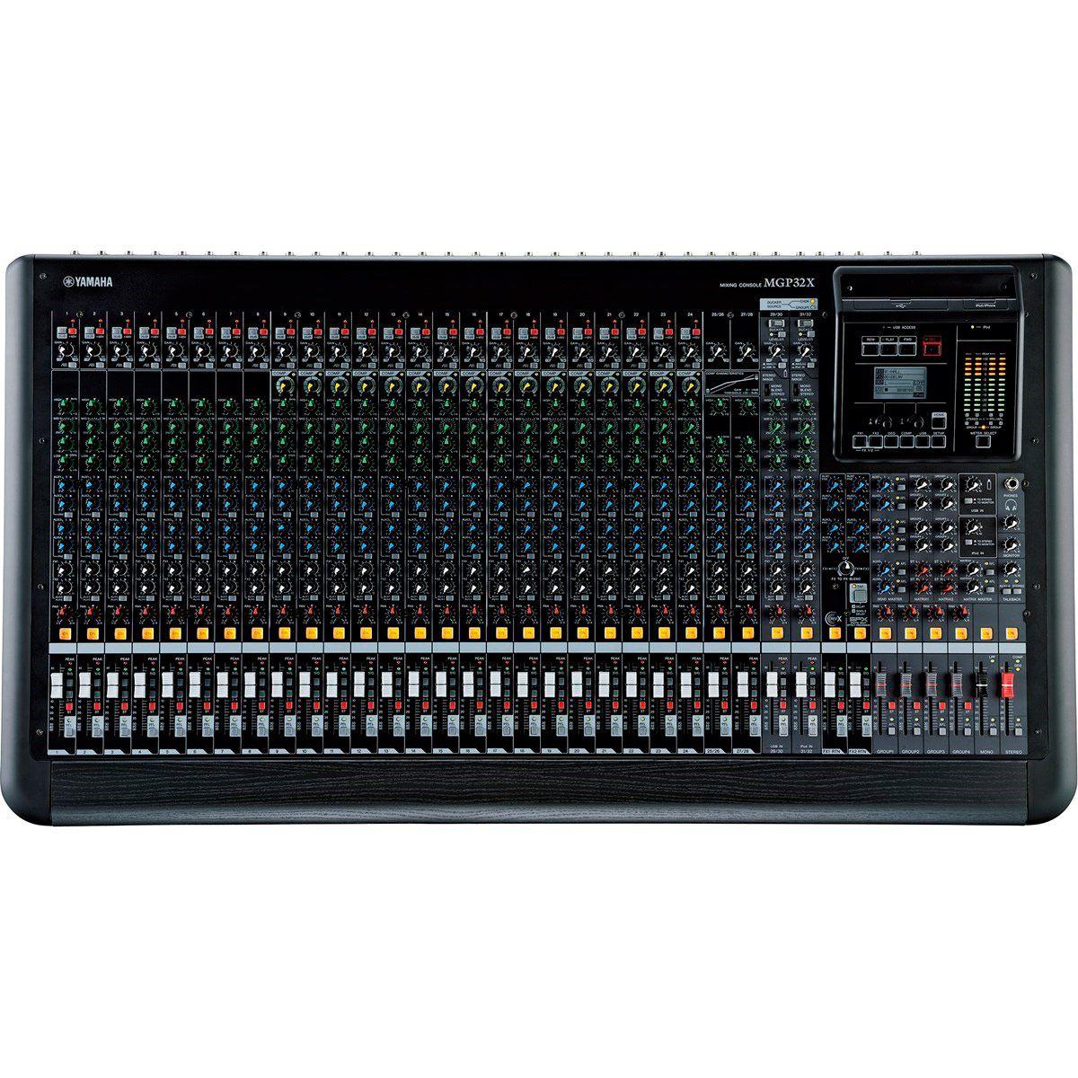 Mesa de Som Analógica Yamaha MGP32X 32 Canais