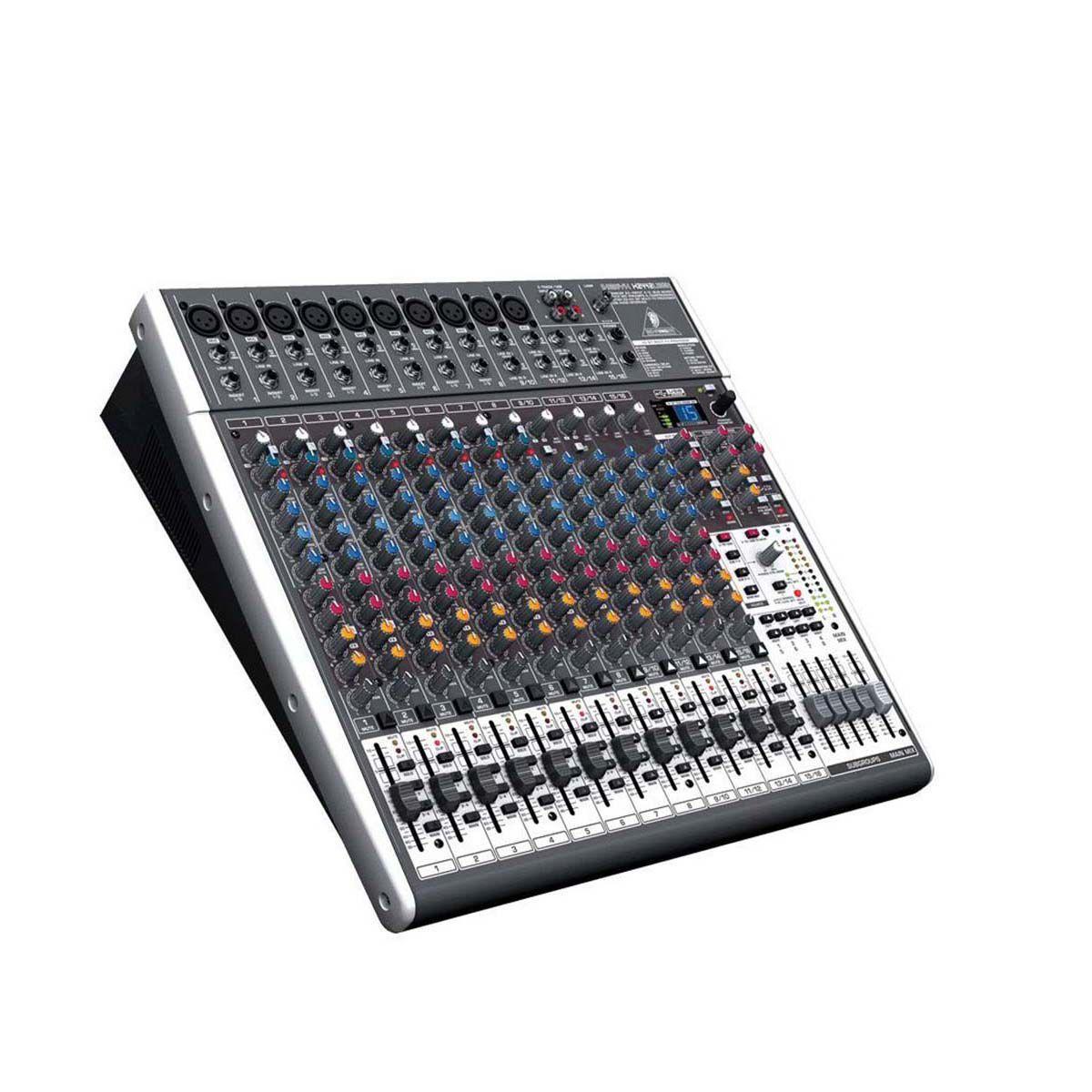 Mesa de Som Behringer Xenyx X2442 USB 16 Canais