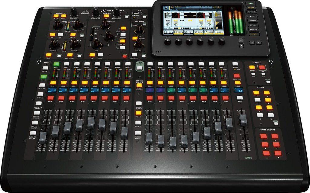 Mesa de Som Digital Behringer X32 Compact
