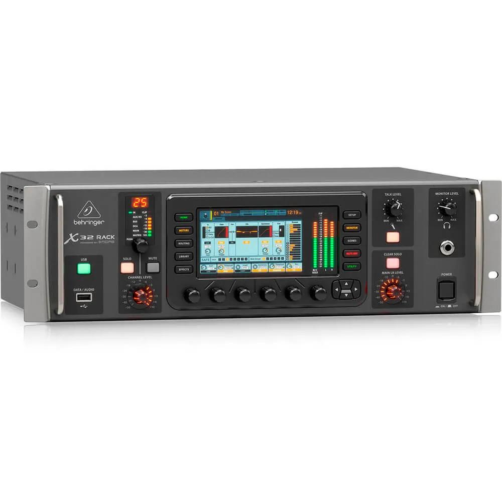 Mesa de Som Digital Behringer X32 Rack 40 Canais Bivolt