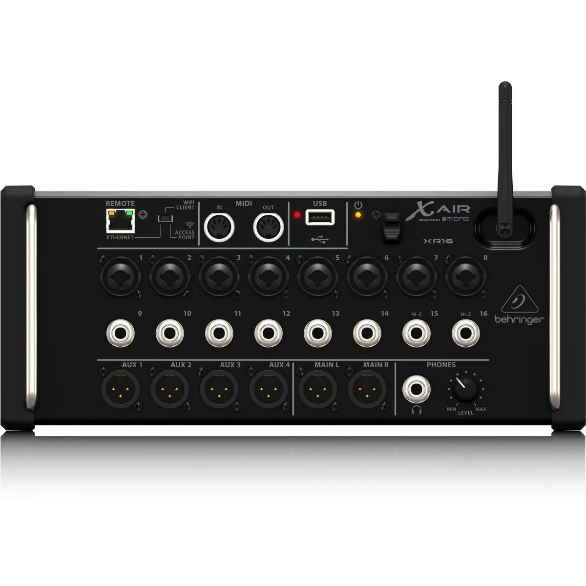 Mesa de Som Digital Behringer X Air XR16 USB 16 Canais