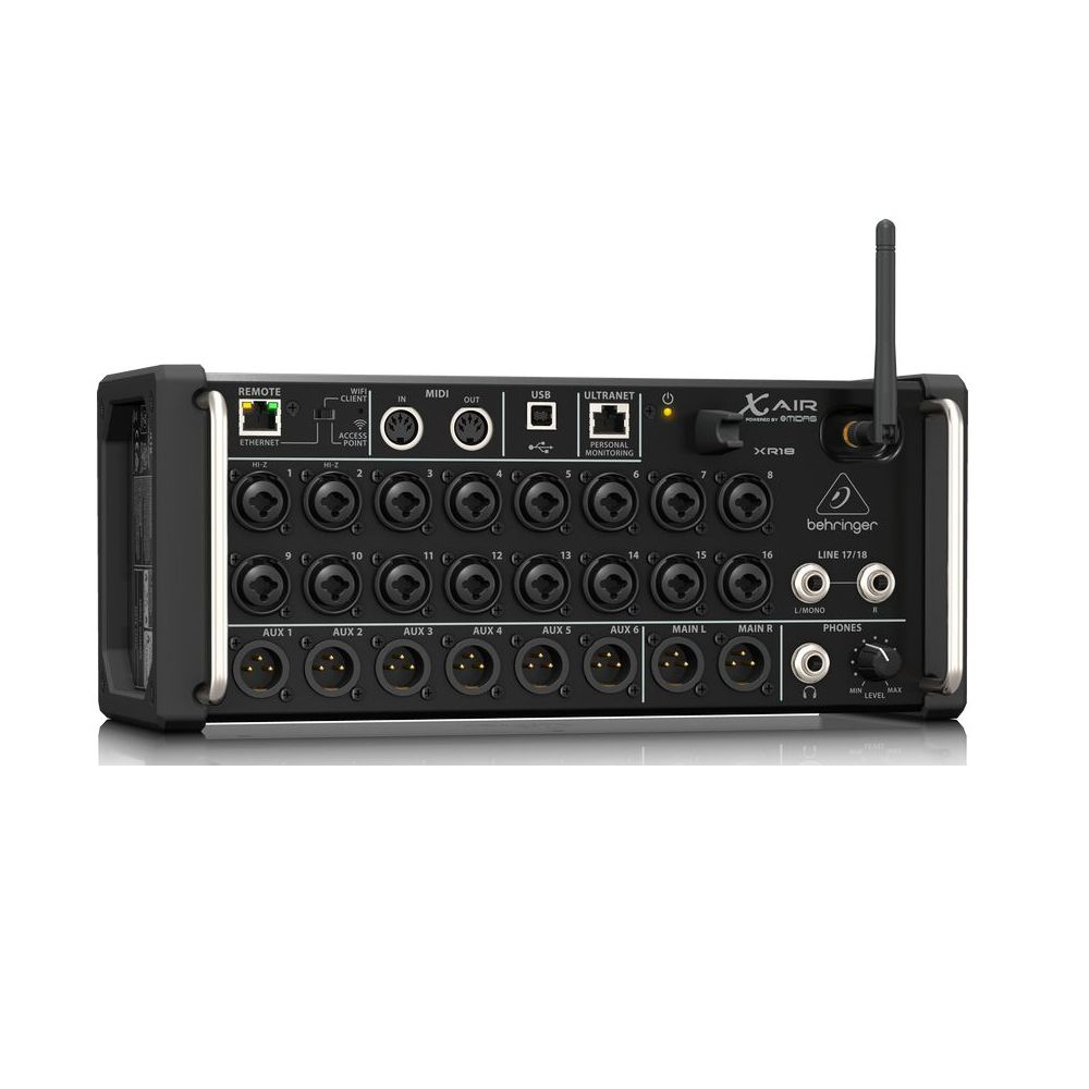 Mesa de Som Digital Behringer X Air XR18 18 Canais