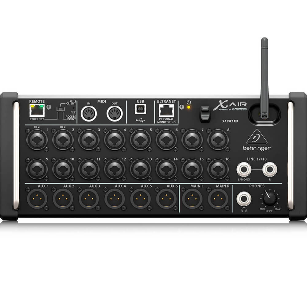Mesa de Som Digital Behringer X-Air XR18 18 Canais C/ Efeitos Bivolt