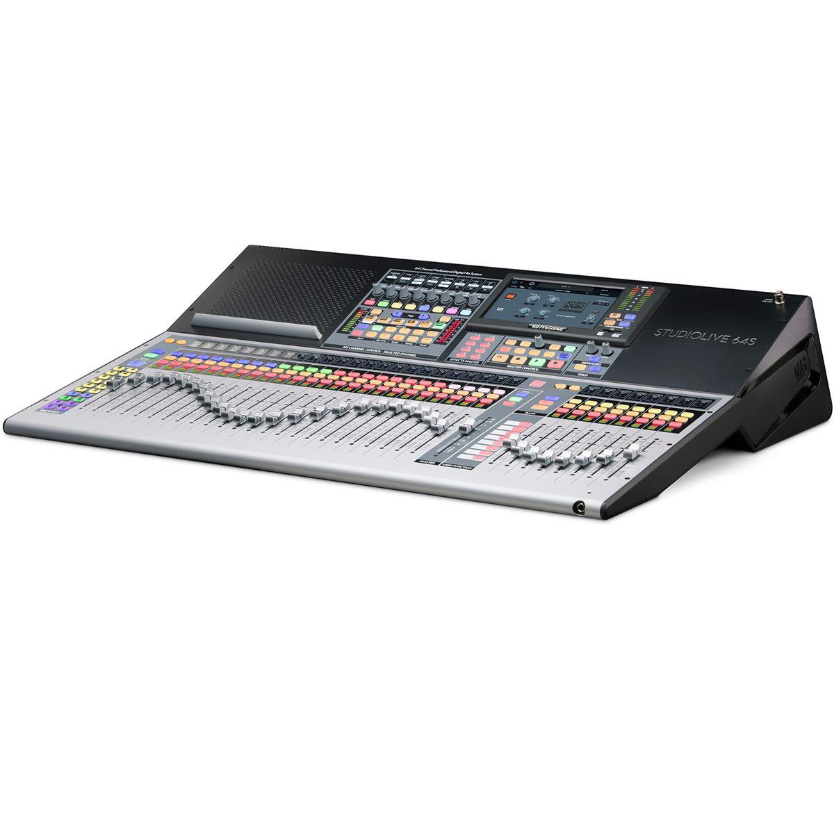 Mesa de Som Digital Presonus 64S USB 64 Canais