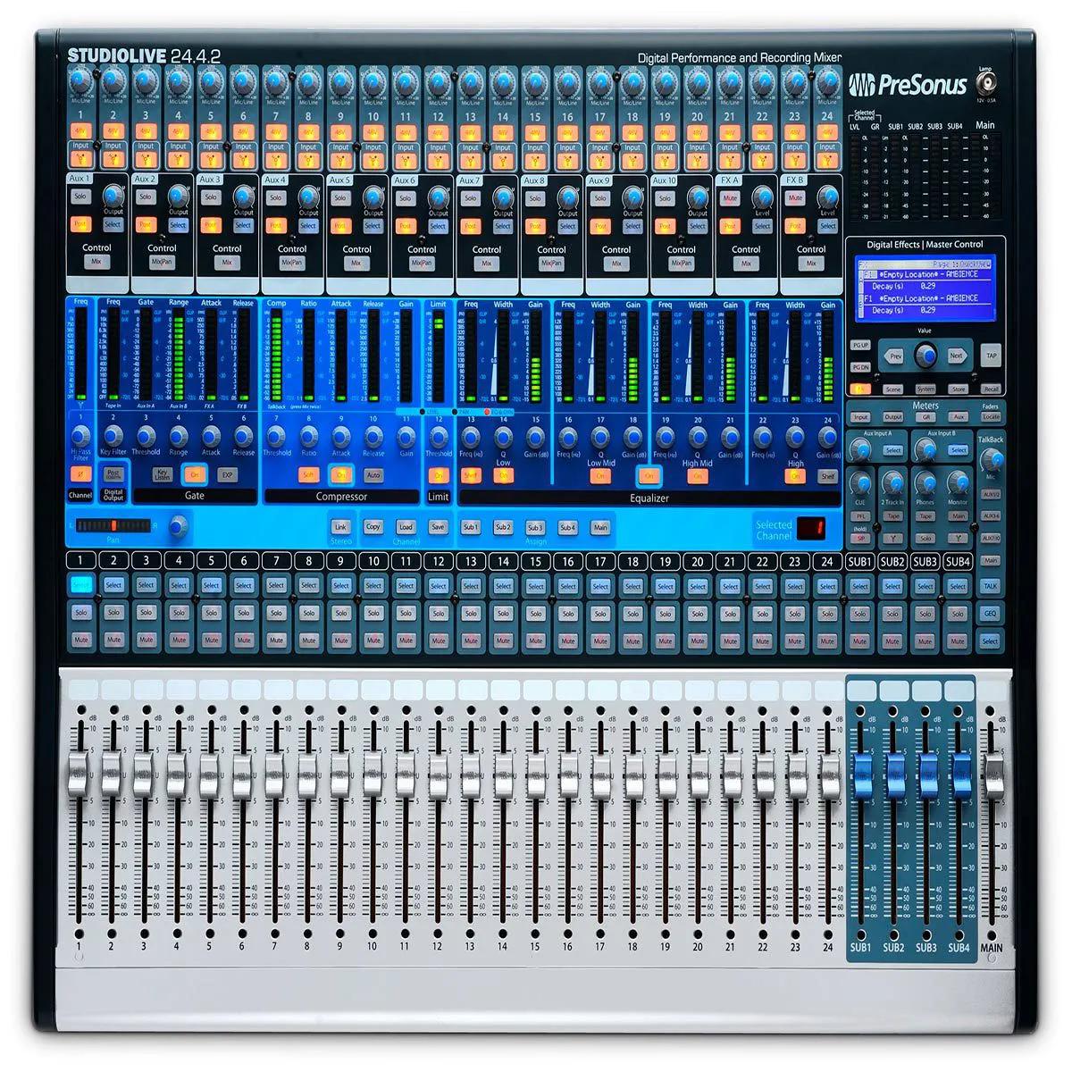 Mesa de Som Digital PreSonus StudioLive 24.4.2 AI 24 Canais