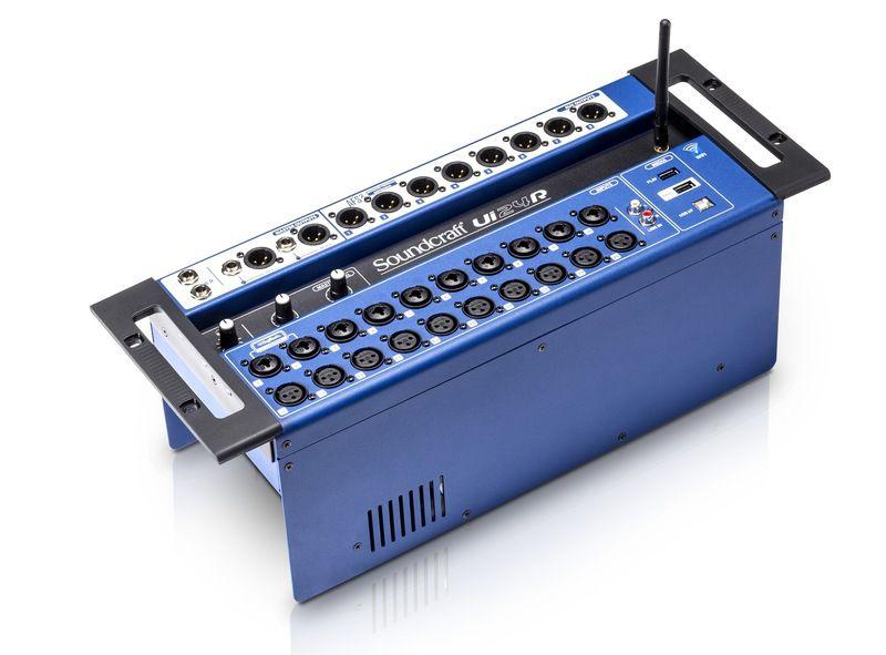 Mesa de Som Digital Soundcraft UI24R USB 24 Canais