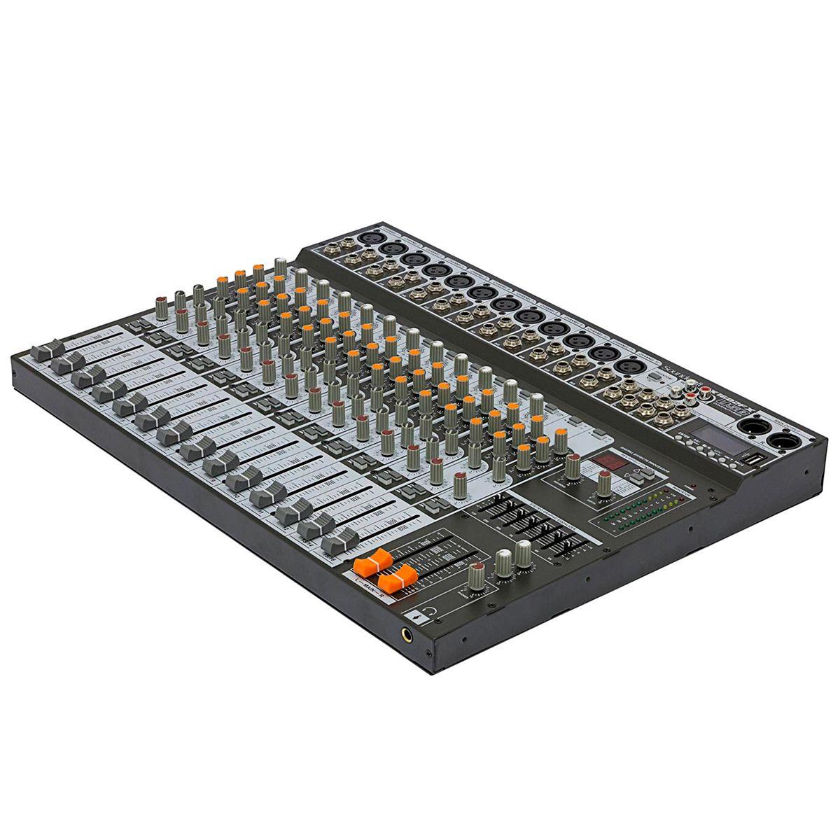 Mesa de Som Soundcraft SX1602FX USB 16 Canais