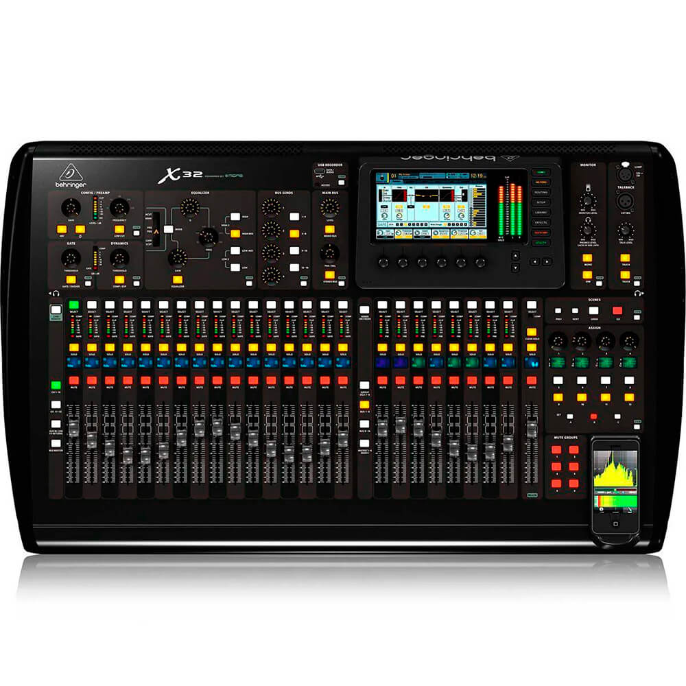 Mesa Digital  Behringer X32 32 Canais C/ Efeitos Bi-Volt
