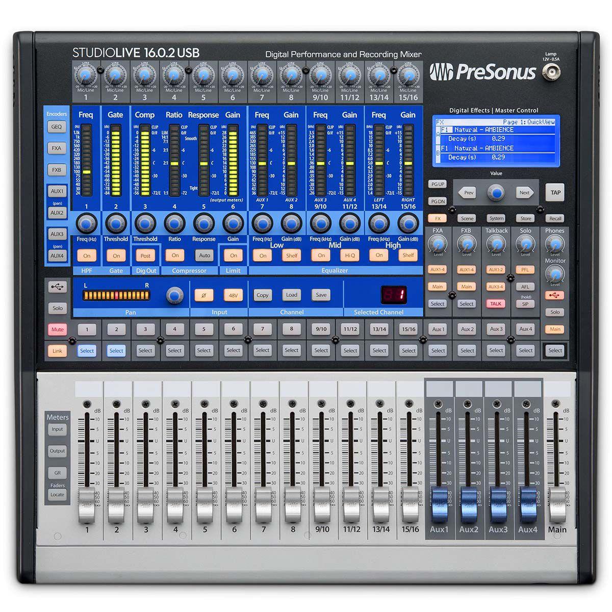 Mesa Digital Presonus Studiolive 16.0.2 USB