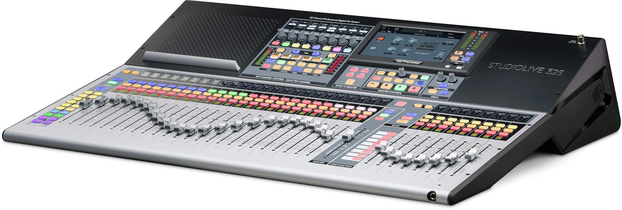 Mesa Digital Presonus Studiolive 32S 32 Canais