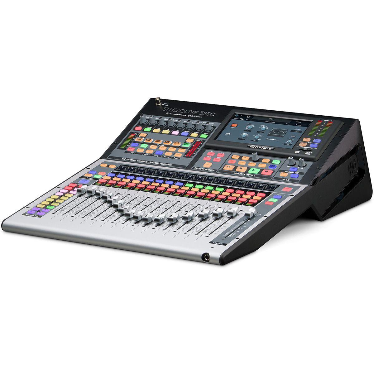 Mesa Digital Presonus Studiolive 32SC Compact 32 Canais