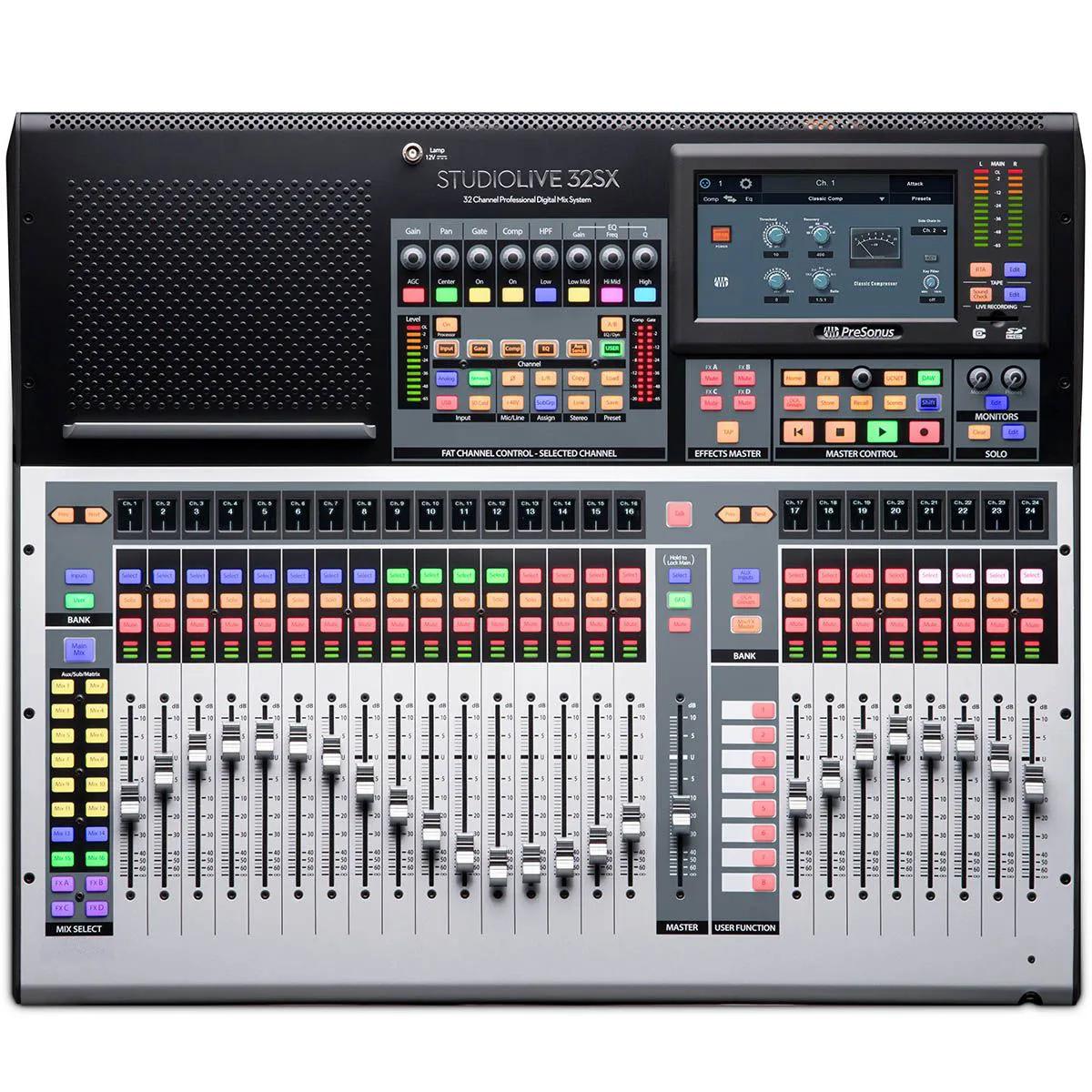 Mesa Digital Presonus Studiolive 32SX Subcompact 32 Canais