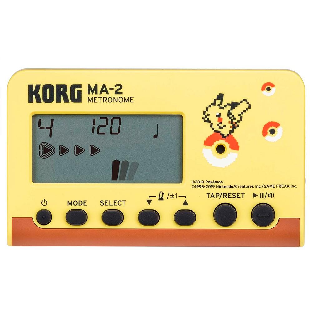 Metrônomo Digital Korg MA-2-PK Linha Pokémon Pikachu