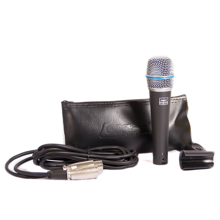 Mic. c/Fio Supercardioide, Cabo 3m, Cachimbo LM-B57A -LEXSEN