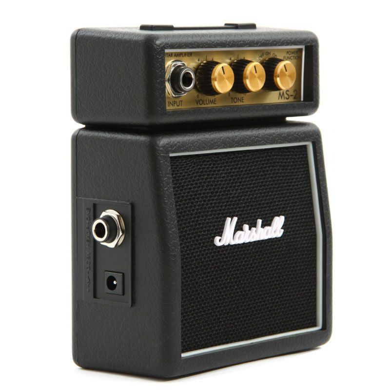 Micro combo para guitarra black - MS-2-E - MARSHALL