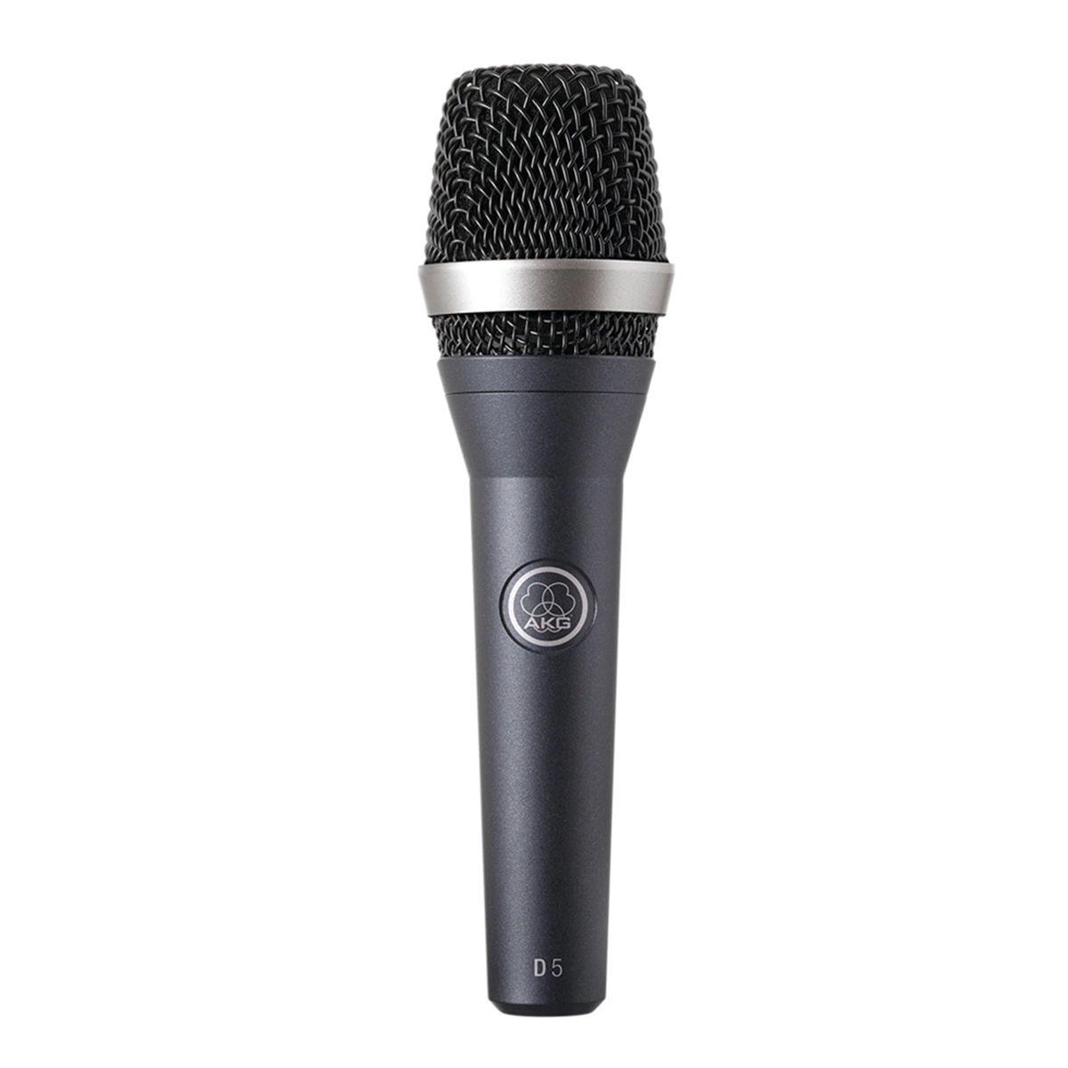 Microfone AKG D5 Dinâmico Supercardioide
