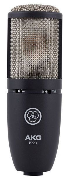 Microfone AKG P220 Condensador Cardioide