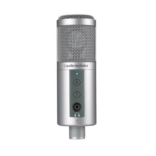 Microfone Audio-Technica ATR2500-USB Condensador Cardióde