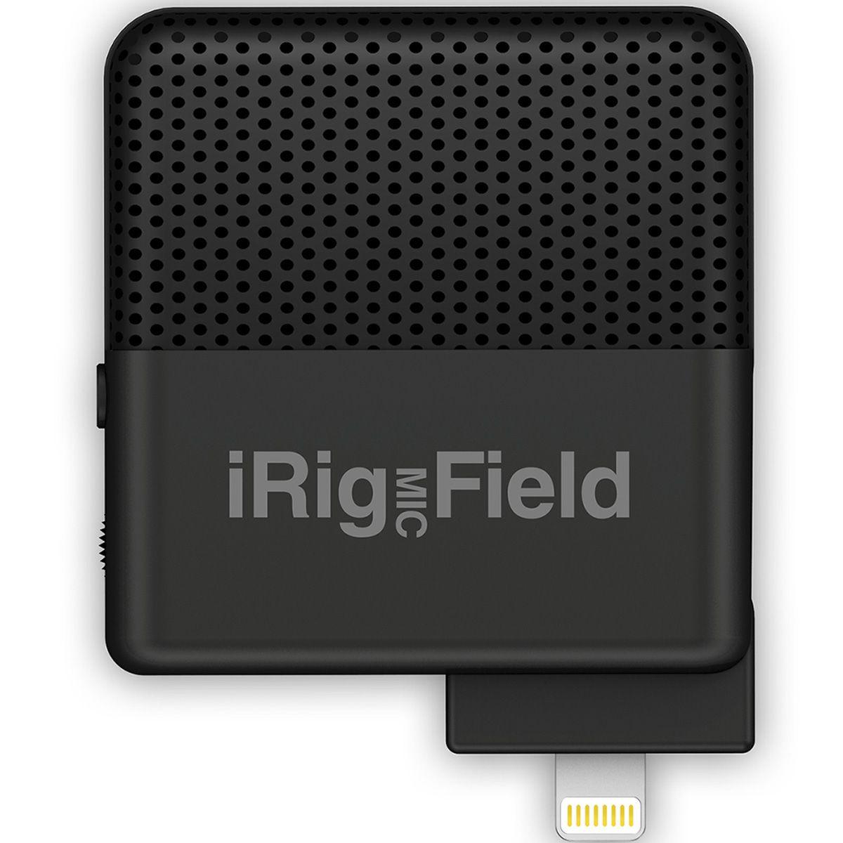 Microfone Cardióide Condensador IK Multimedia iRig Mic Field