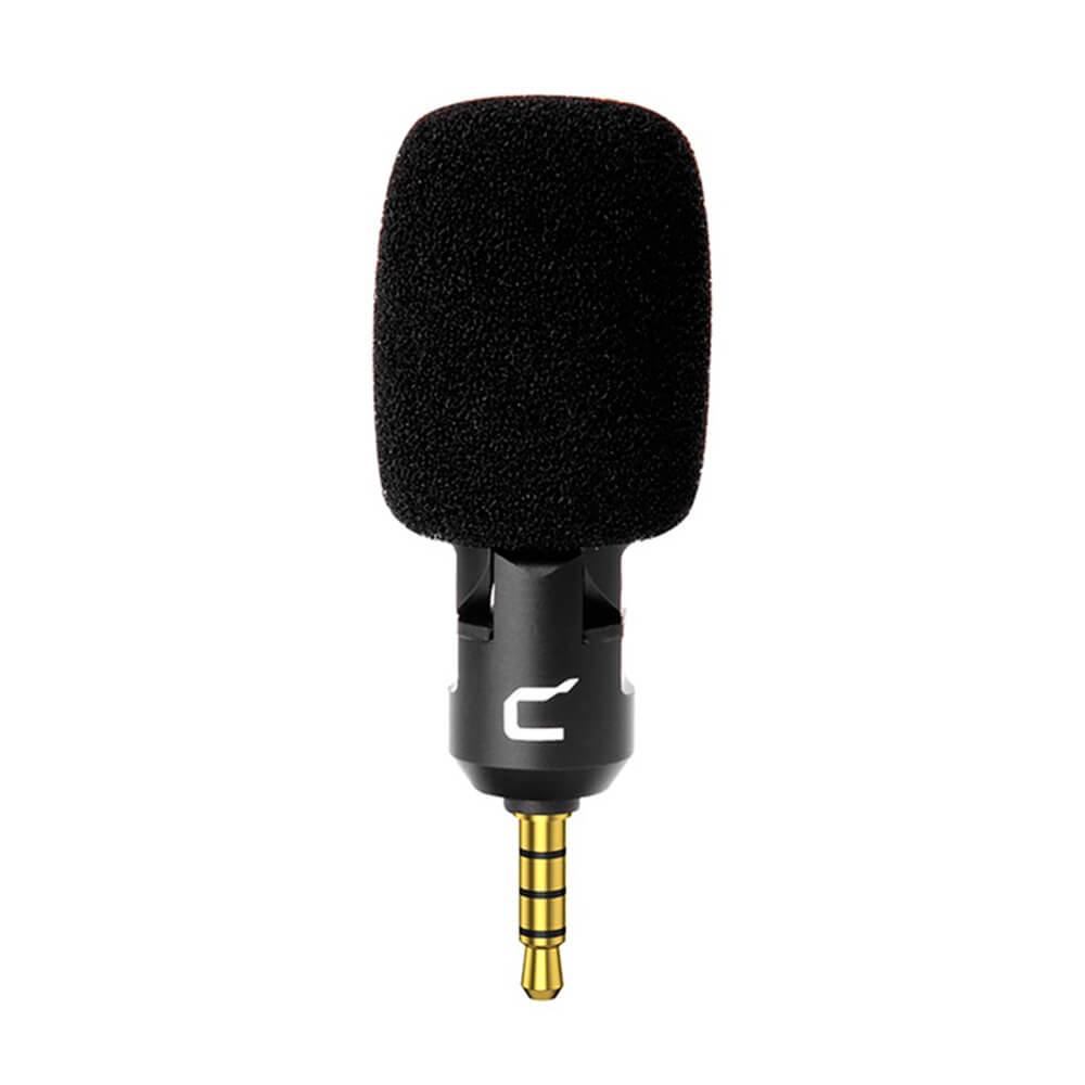Microfone Compacto Comica CVM VS07(C) P/ Smartphone e Tablet