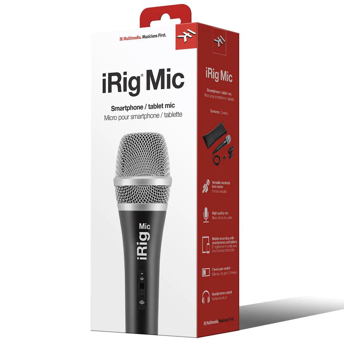 Microfone Condensador Ik Multimedia Irig Mic