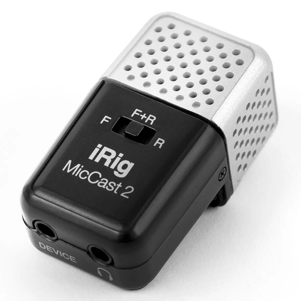 Microfone Condensador IK Multimedia iRig Mic Cast 2