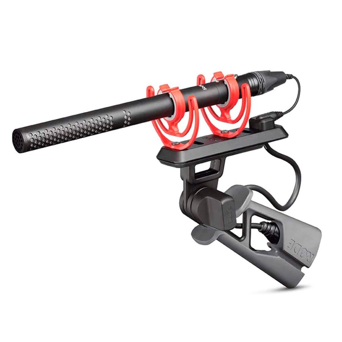 Microfone Condensador Rode NTG5 Shotgun Kit para Estúdio