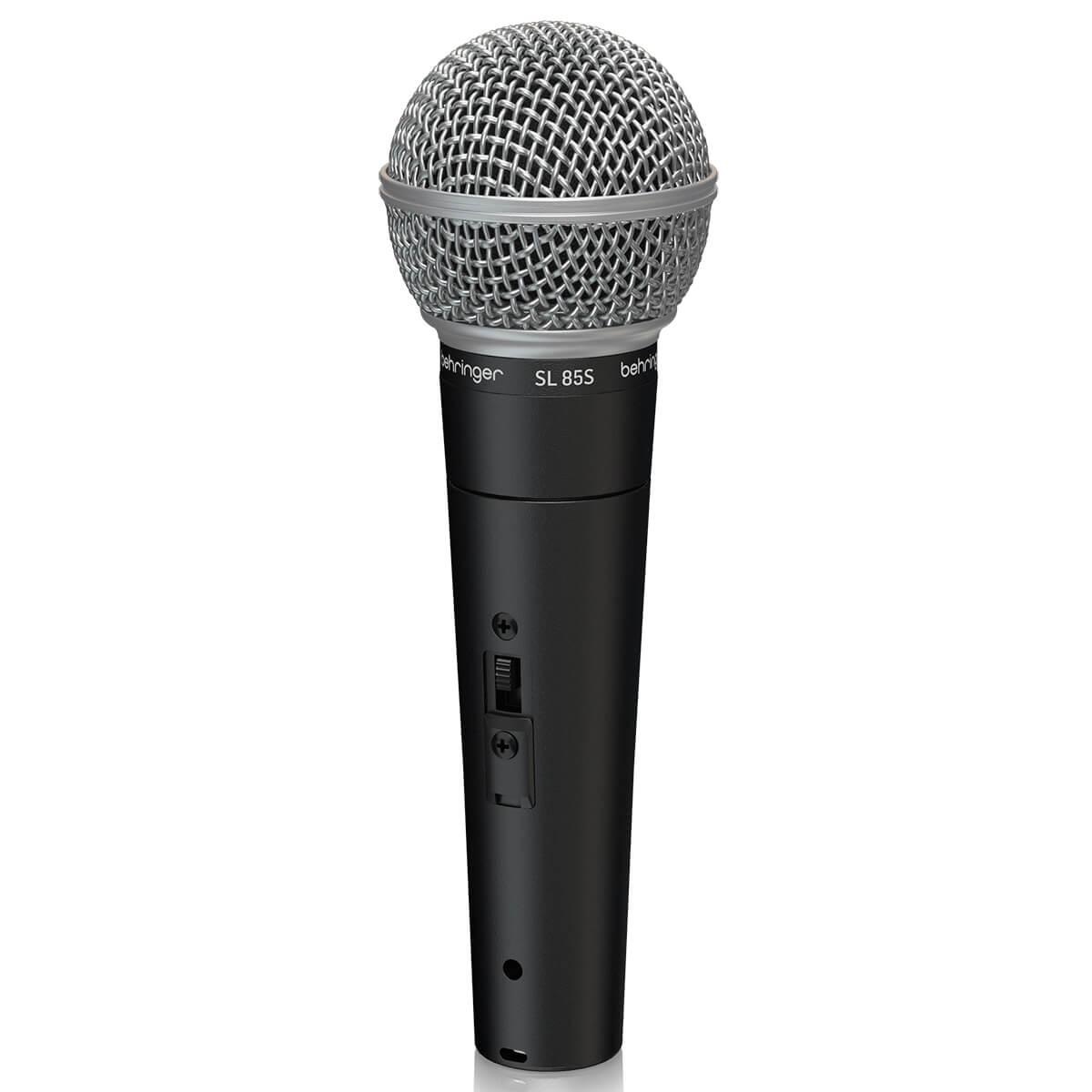 Microfone Dinâmico Behringer SL 85S com Interruptor