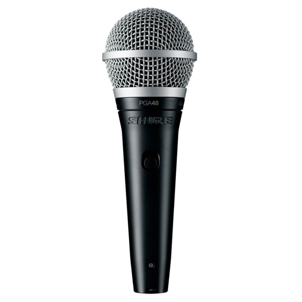 Microfone Dinâmico Shure PGA48-LC Cardioide