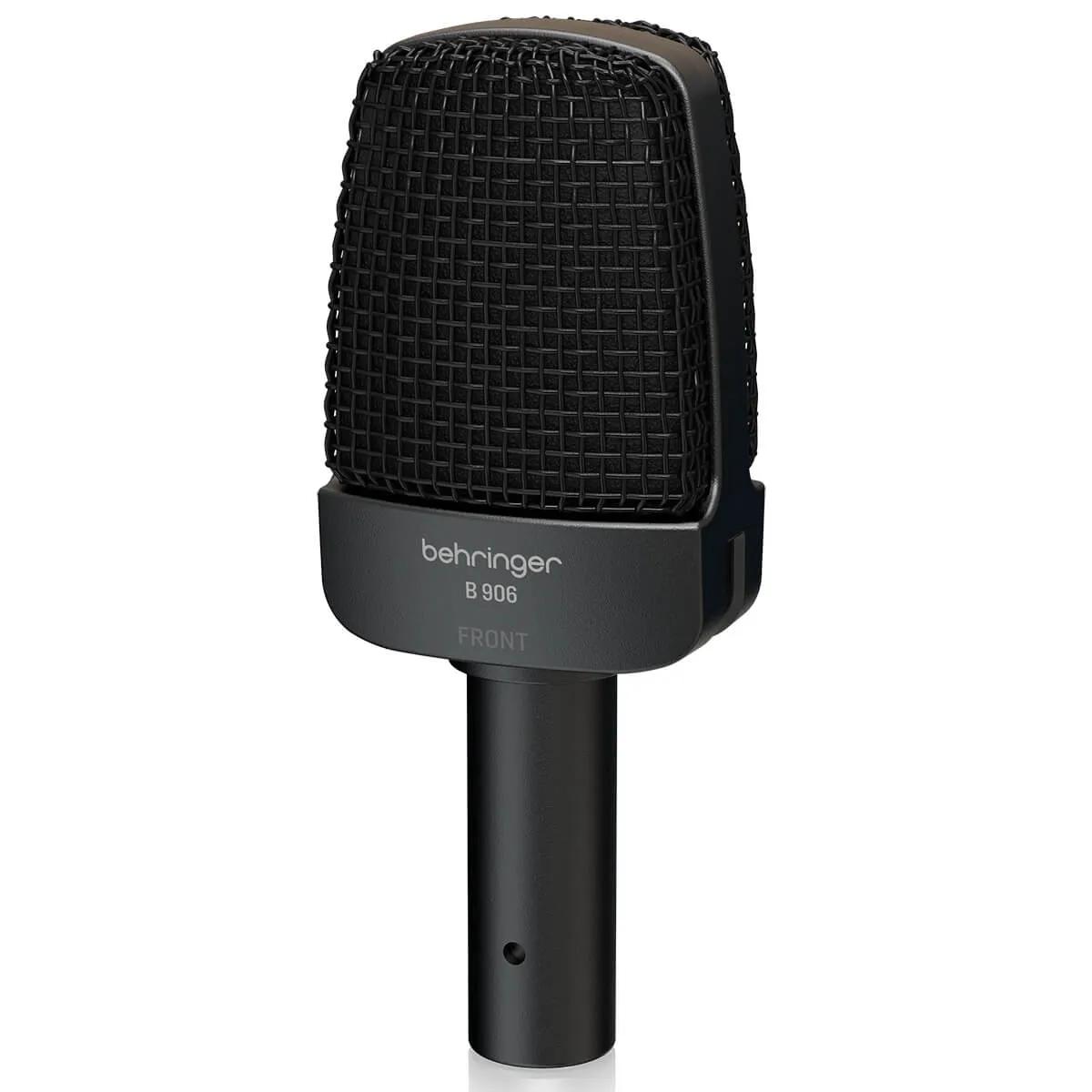 Microfone Dinâmico Supercardióide Behringer B 906
