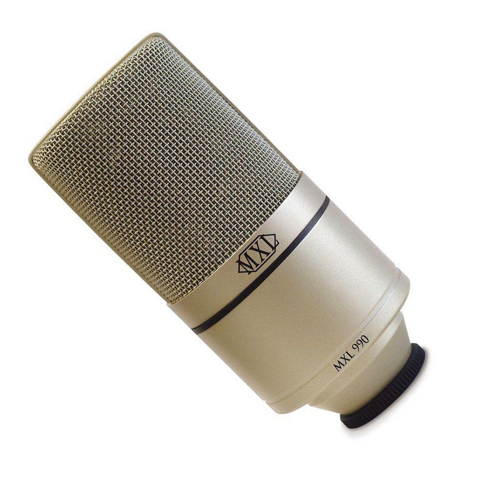 Microfone MXL 990 / 991 KIT STUDIO