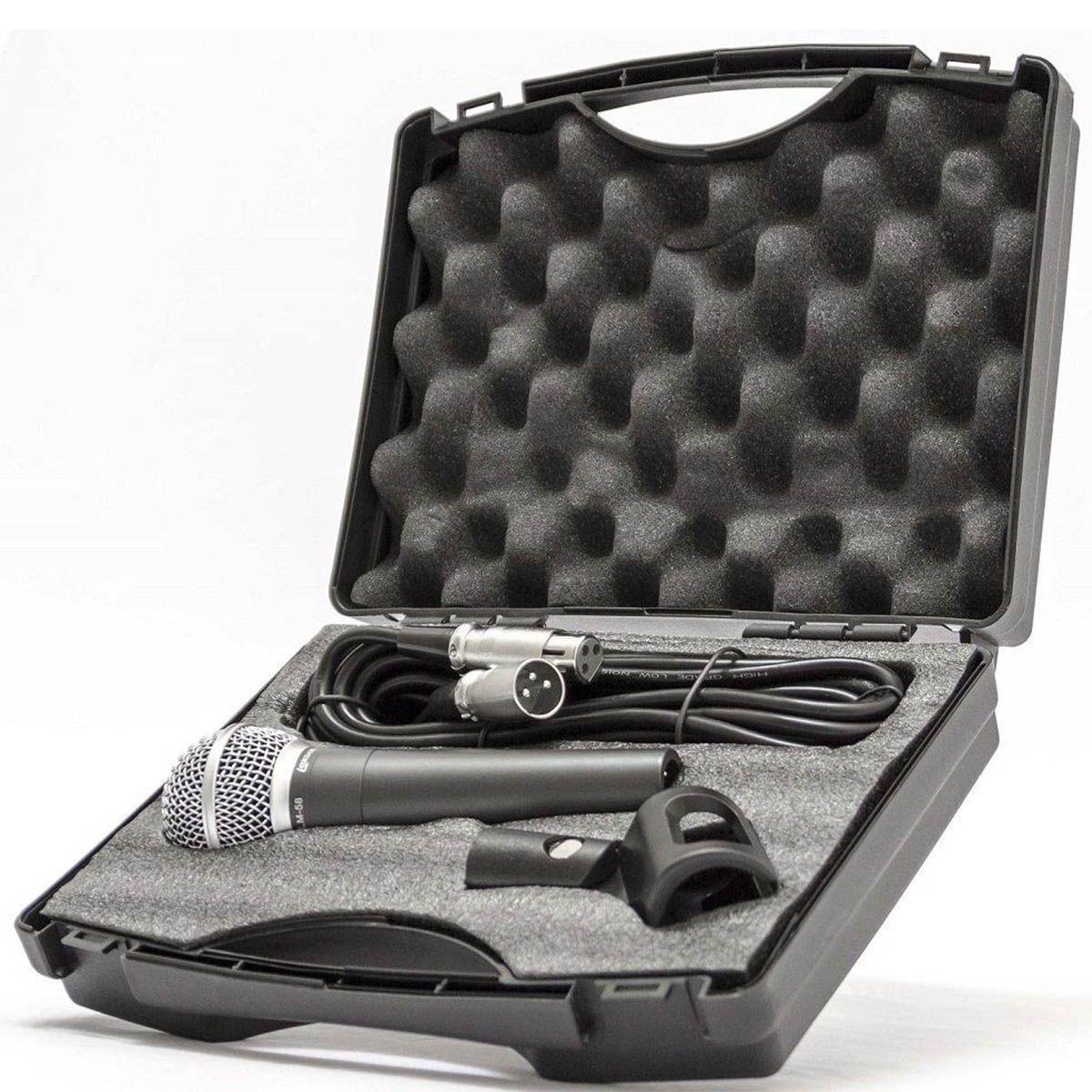 Microfone Profissional Lexsen LM58 com Estojo