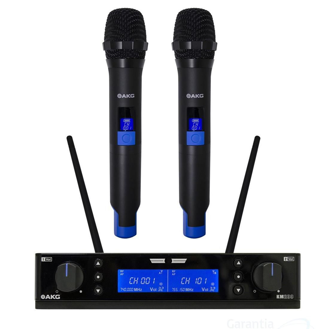 Microfone sem Fio Akg KM200 Sistema Duplo