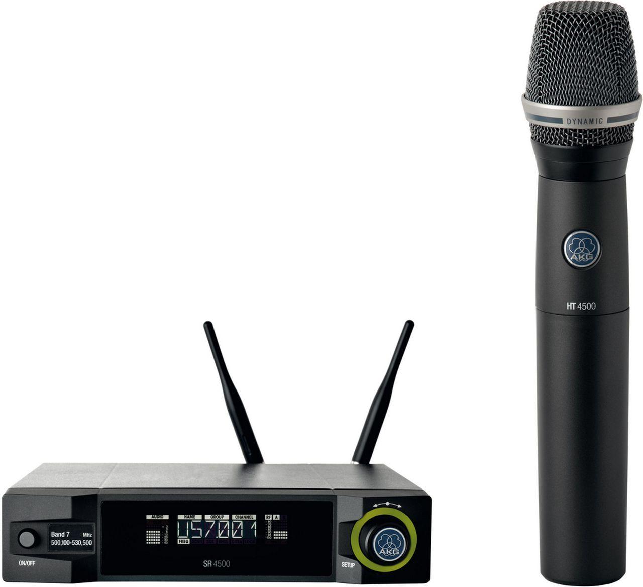 Microfone Sem Fio AKG WMS4500 D7 Set