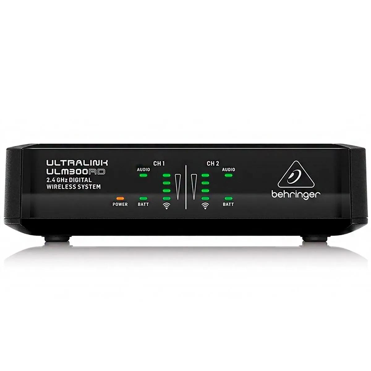 Microfone Sem Fio Behringer 2.4Ghz ULM302MIC Digital