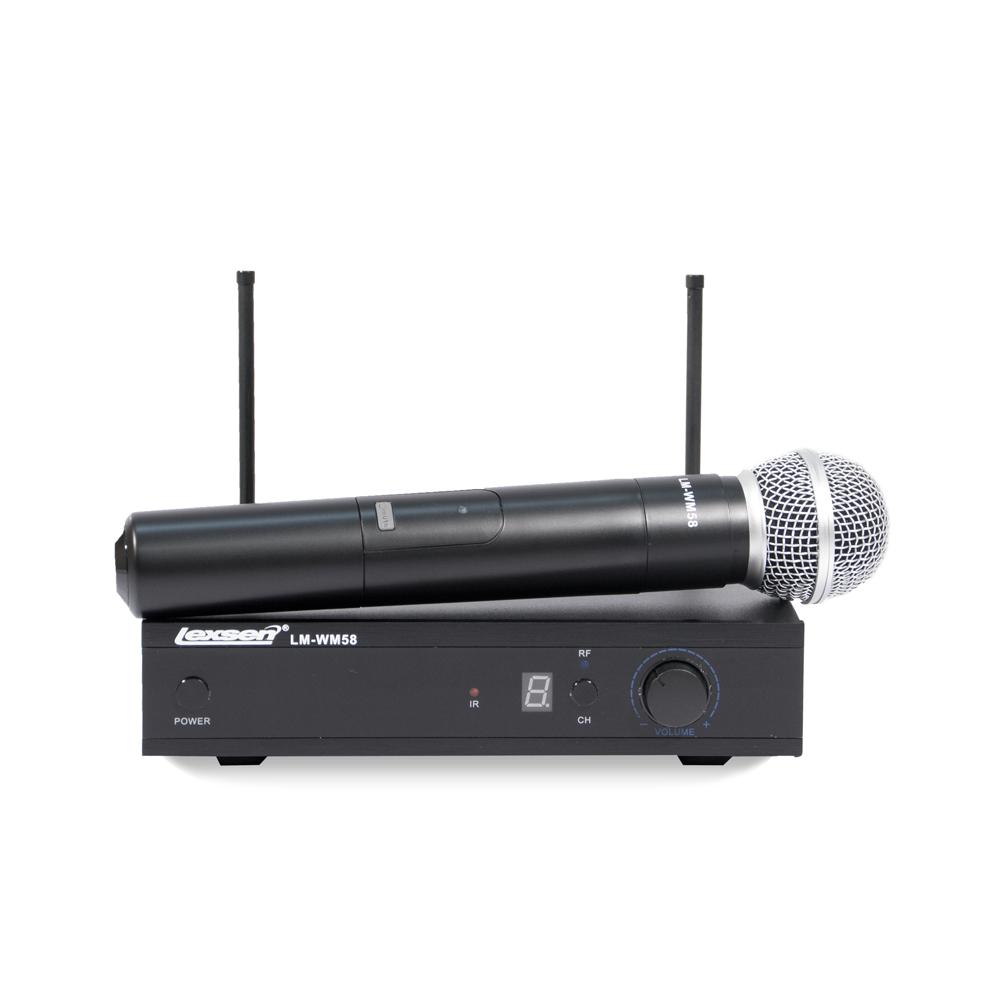 Microfone sem fio Bi-Volt - LM-WM58 - Lexsen